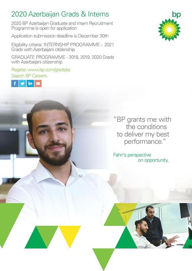 BP Azərbaycan ilə  maraqlı bir karyeraya başlamağa hazırsınız?