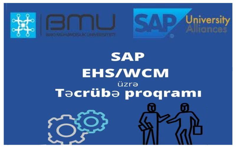 """""""SAP EHM/WCM üzrə Təcrübə proqramı"""""""