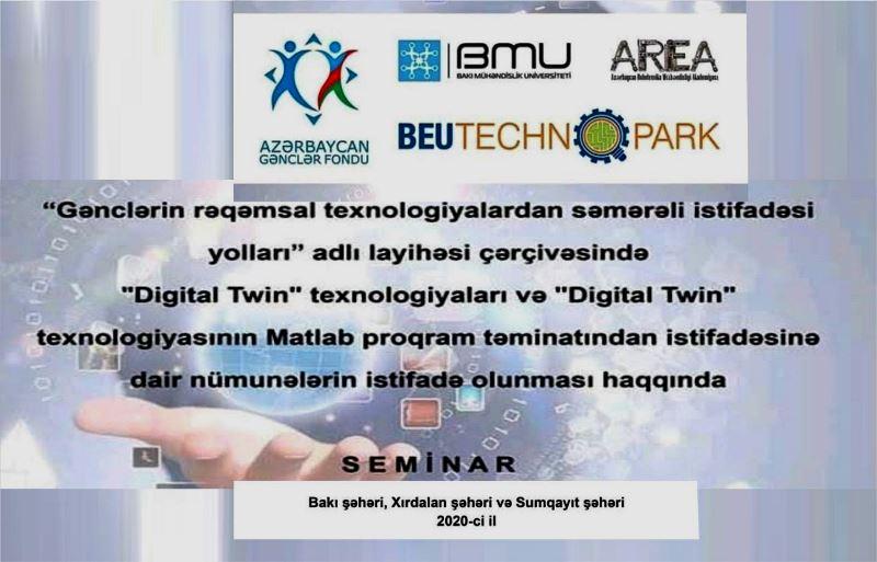 Yeni texnologiyaların proqram təminatında istifadəsinə dair seminar