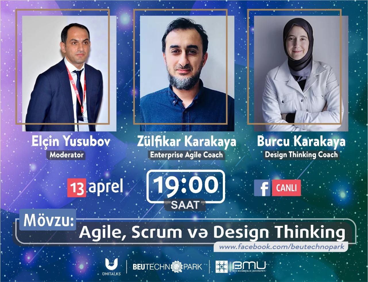"""""""Agile, Scrum və Design Thinking"""" mövzusunda növbəti """"UniTalks"""" görüşü"""