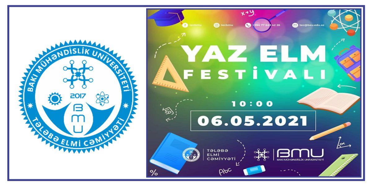 """BMU Tələbə Elmi Cəmiyyəti """"Yaz Elm Festivalı"""" na start verir"""