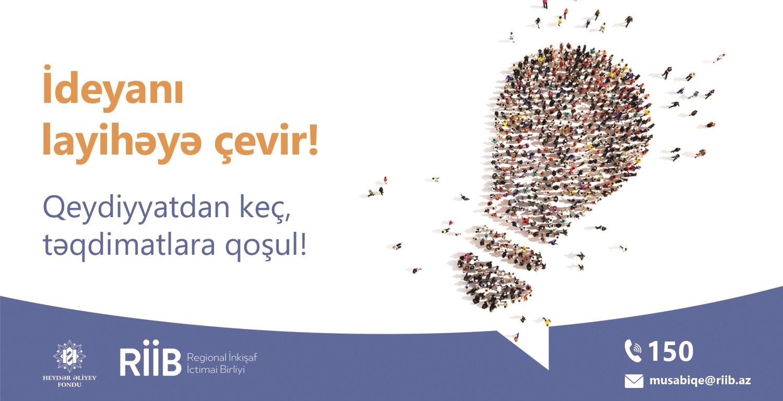 """""""Sosial layihələr"""" müsabiqəsi davam edir"""