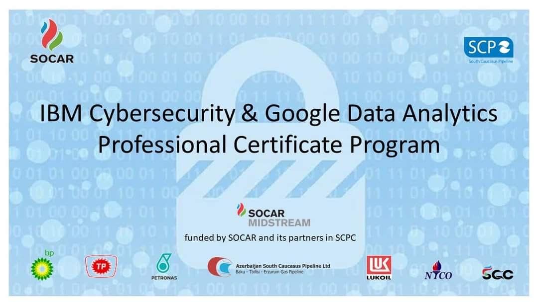 Data Analitikası və Kibertəhlükəsizlik Analitiki peşəkar sertifikatını əldə etmək imkanı