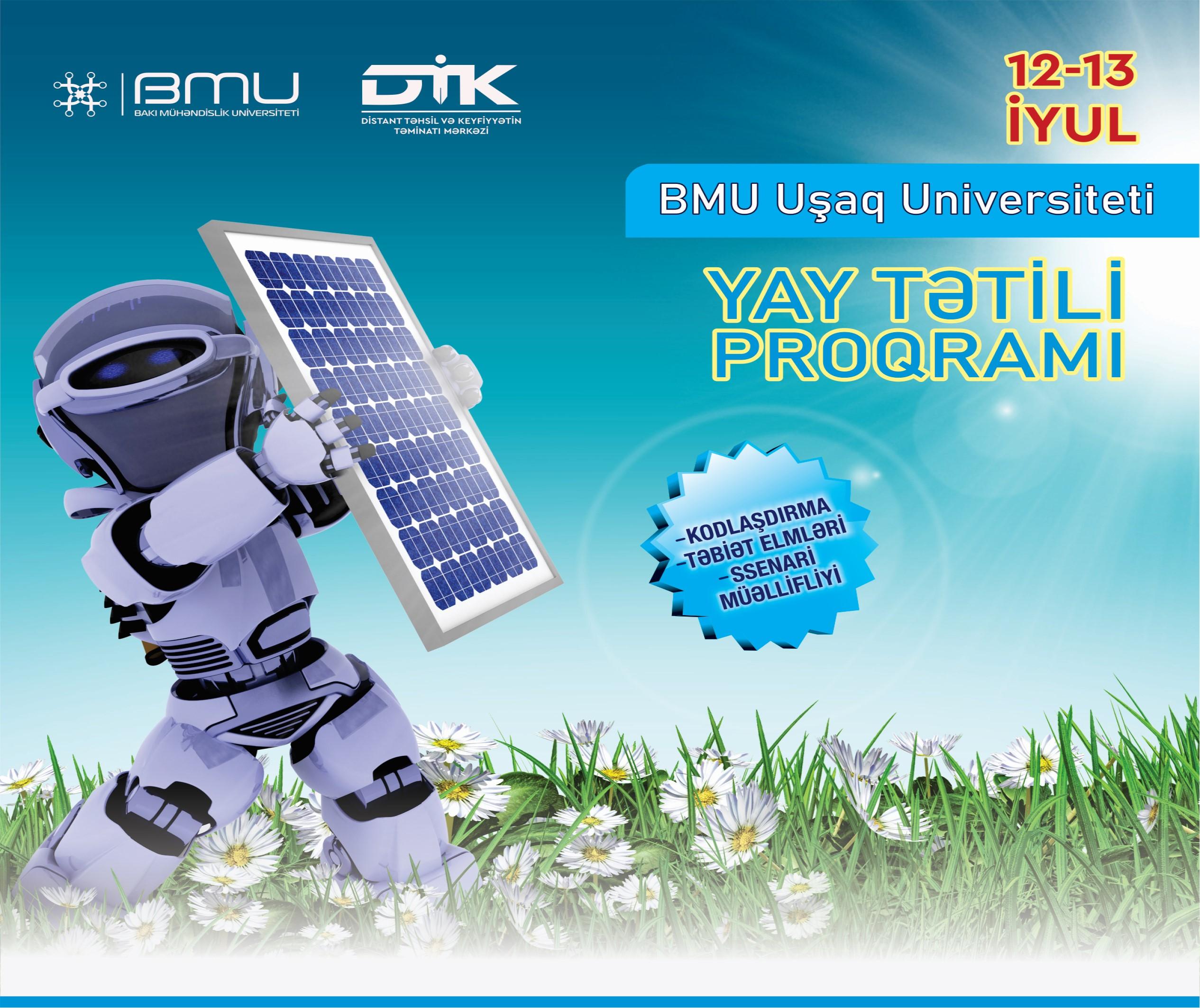 """BMU-da """"Uşaq Universiteti"""" layihəsinə start verilir"""
