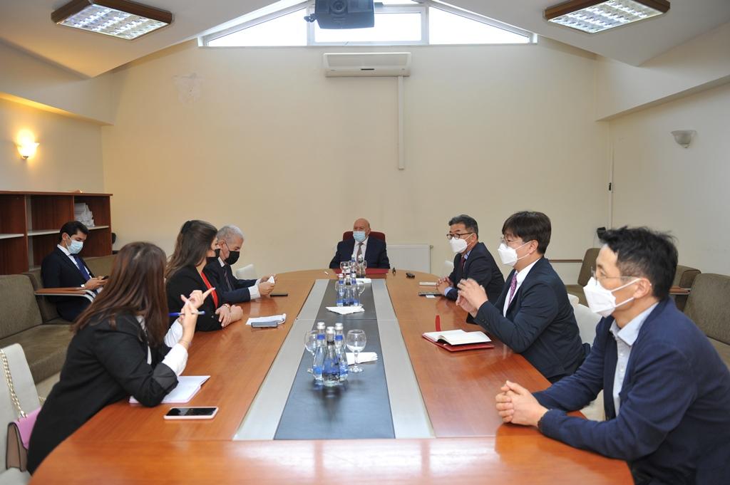 BMU-nun rektoru İNHA Universitetinin nümayəndələri ilə görüşüb