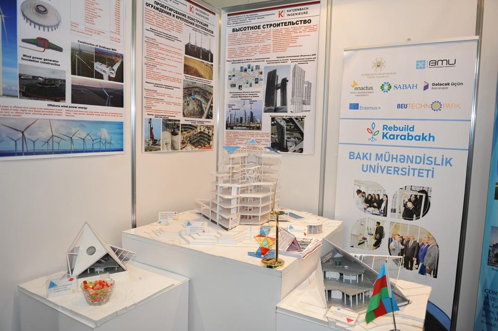"BEU took part in ""Restoration, Reconstruction and Development of Karabakh"" exhibition"