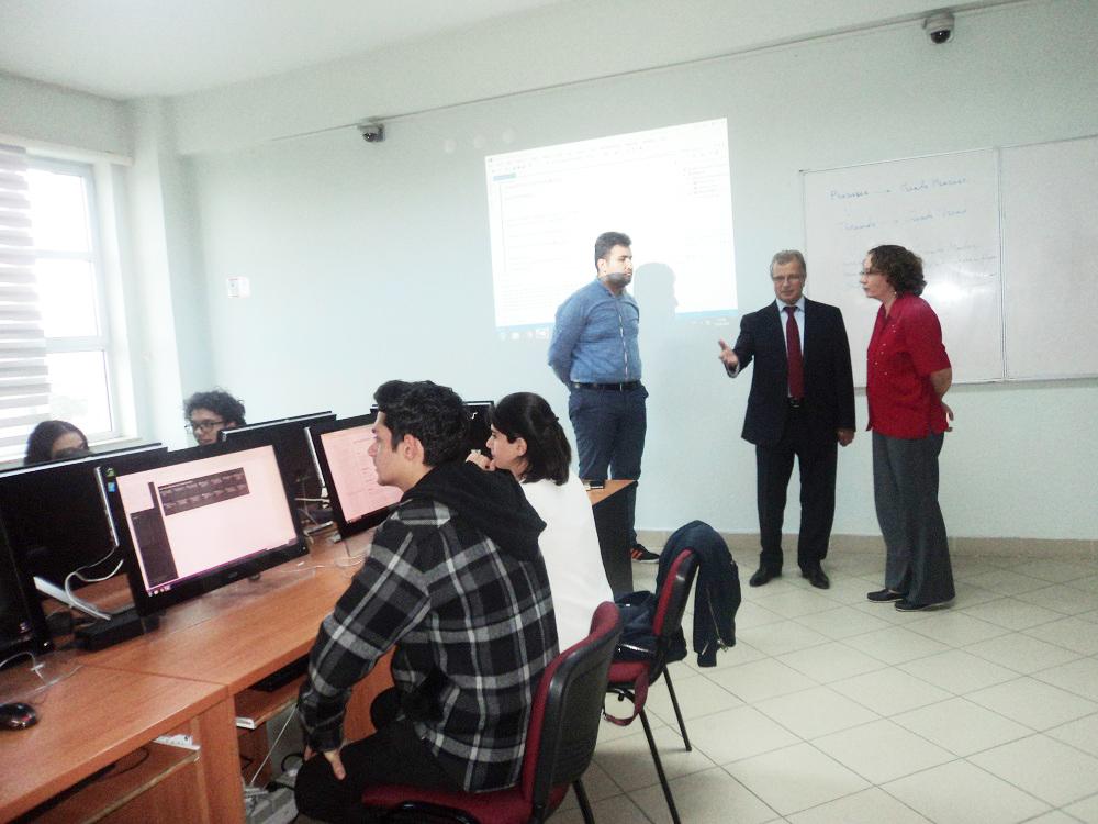 Tvinninq layihəsinin ekspertləri BMU-da