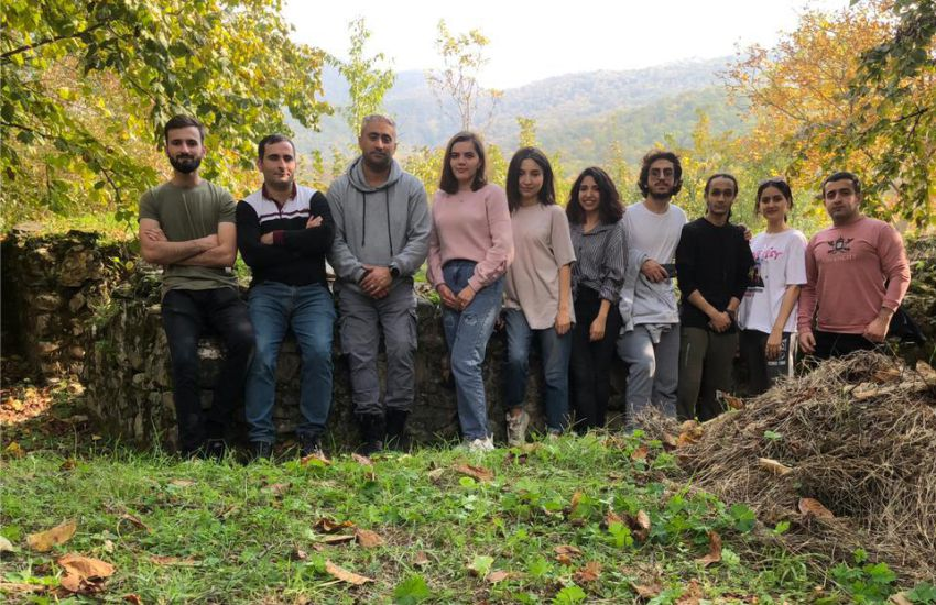 Excursion organized to Gakh with the participation of BEU students