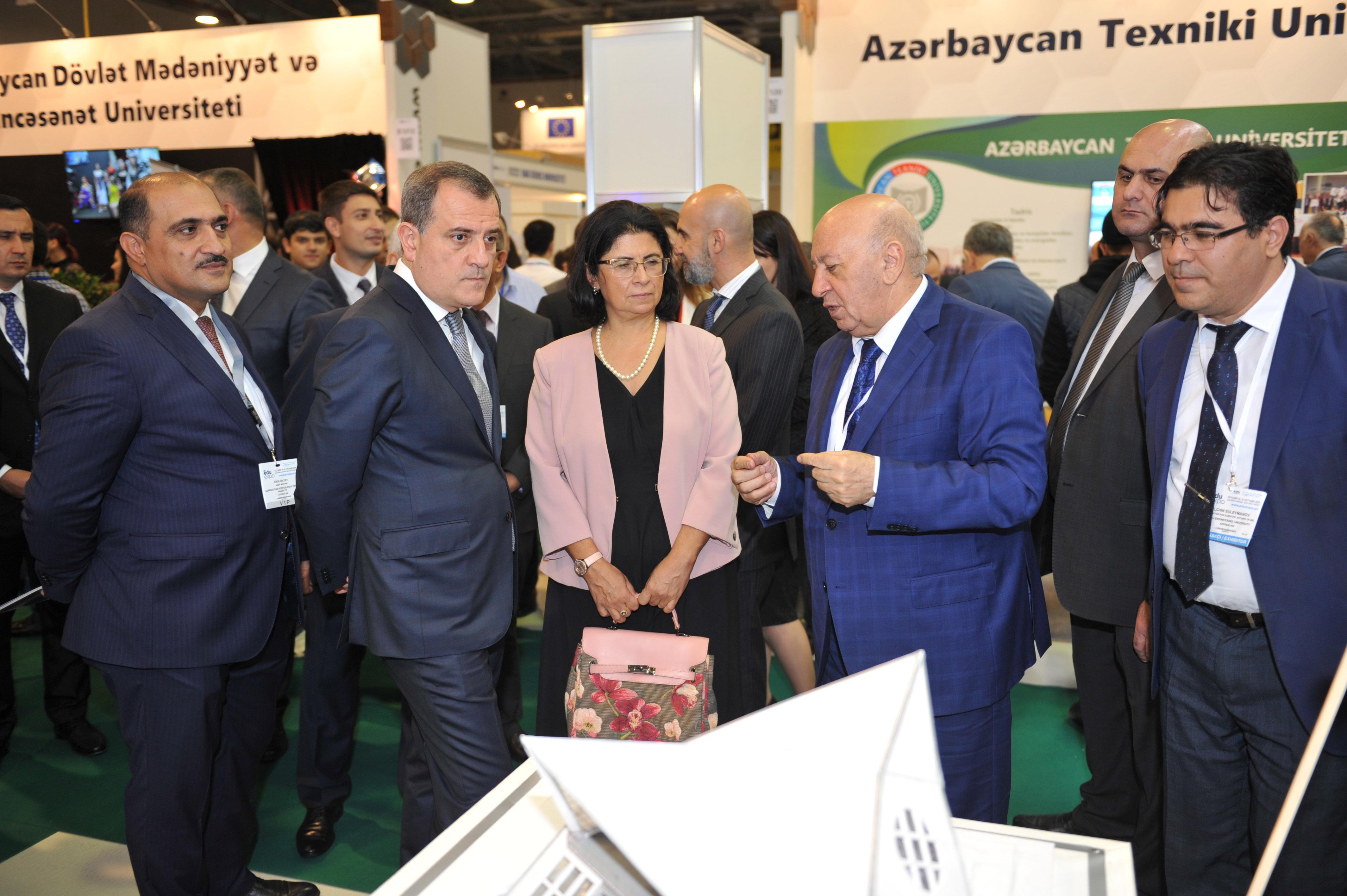 BMU 13-cü Azərbaycan Beynəlxalq Təhsil Sərgisində iştirak edir