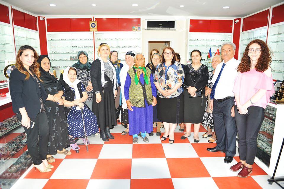 BMU Qadınlar Şurası xeyriyyə aksiyası keçirib