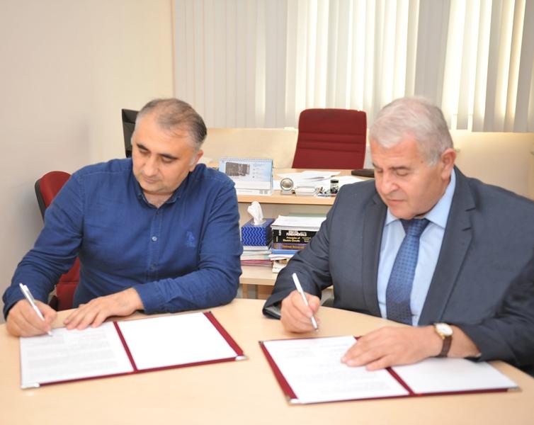 BMU ilə BT ARGE şirkəti arasında müqavilə imzalanıb