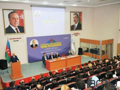 BMU-da Ümummilli Lider Heydər Əliyevin anadan olmasının 96-ci ildönümünə həsr olunmuş konfrans keçirilib