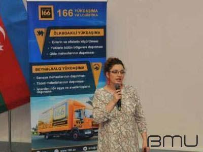 """BMU-da """"Logistikanın inkişaf yolu"""" adlı tədbir keçirilib"""
