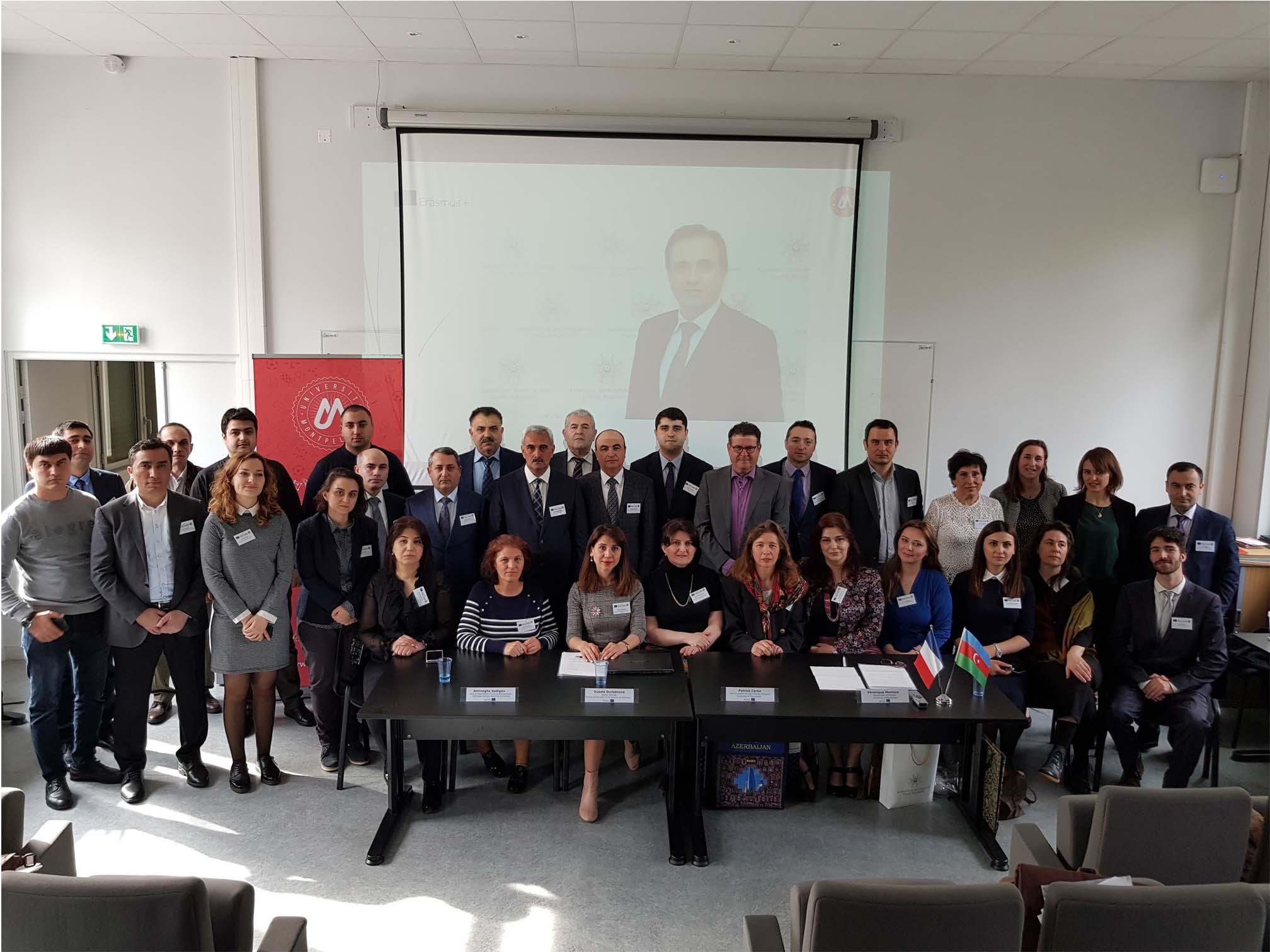 Universitetimizin əməkdaşları NİZAMİ Erasmus+ KA2 layihəsinin yekun tədbirlərində iştirak ediblər