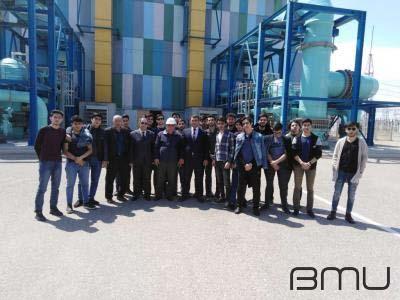 BMU-nun tələbələri Sumqayıt Elektrik Stansiyasının iş sistemi ilə tanış olublar