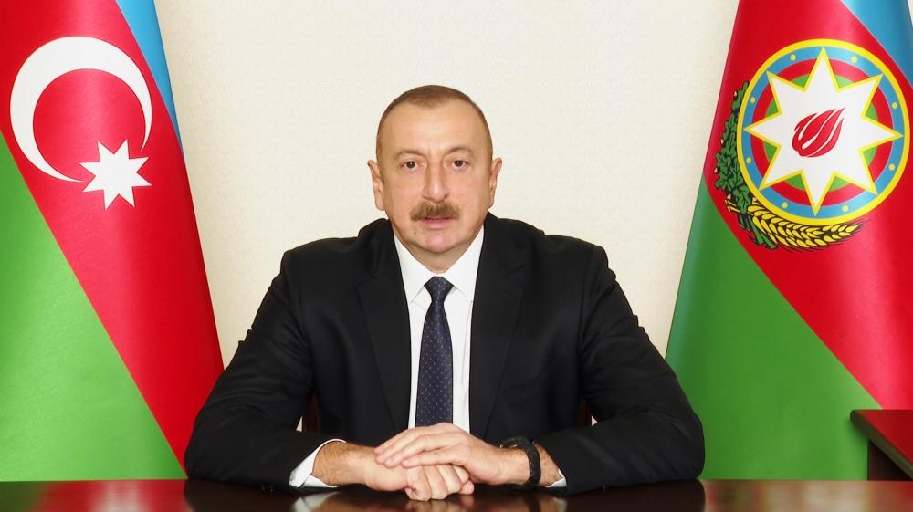Prezident Ağdam rayonunun işğaldan azad olunması münasibətilə xalqa müraciət edib