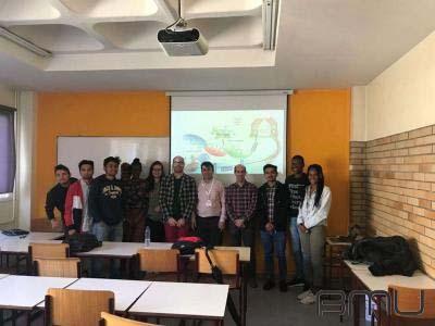 BMU-nun müəllimi Portuqaliya universitetlərində seminar verib