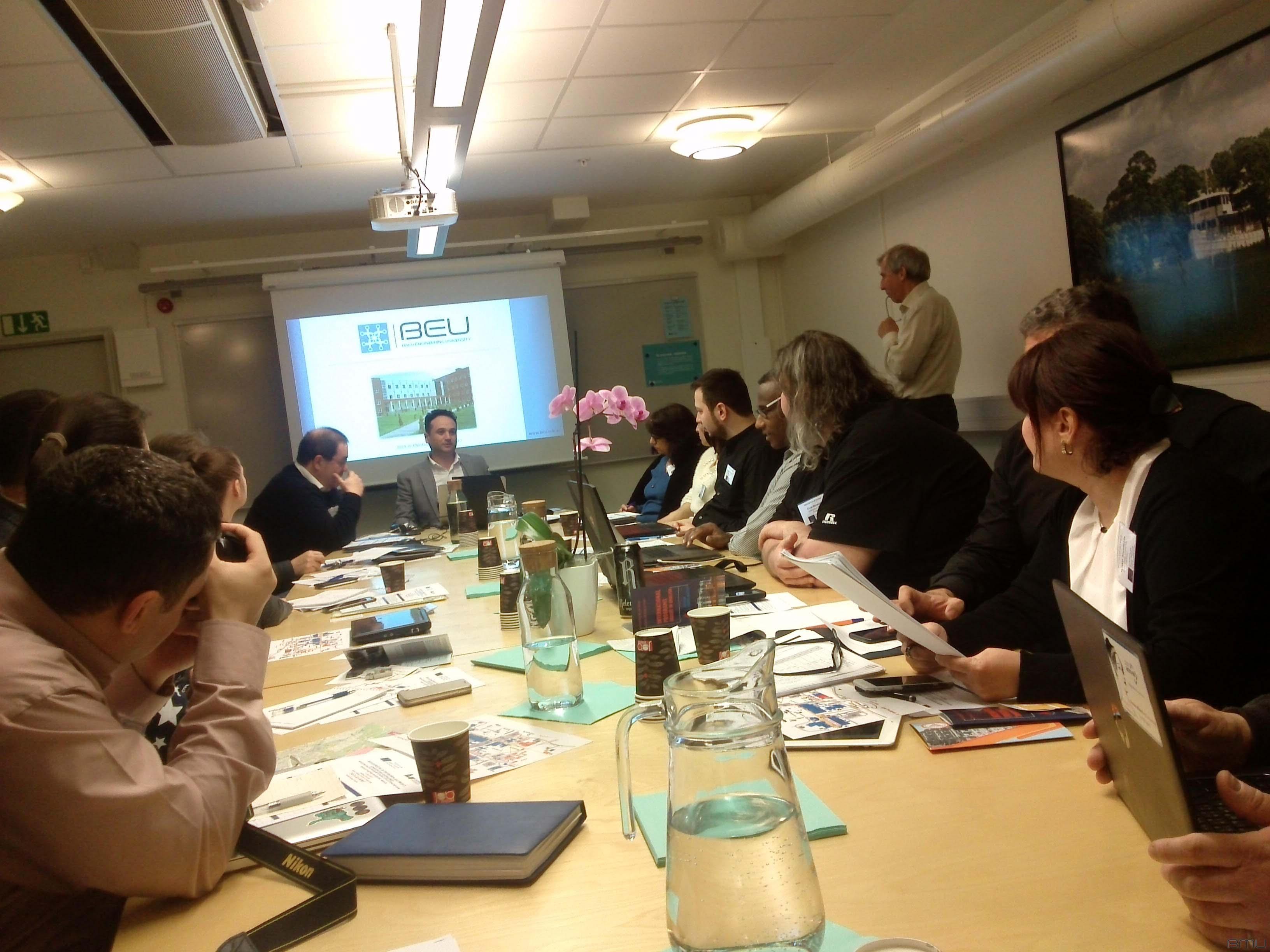 BMU əməkdaşları  (MAGNUS) ERASMUS+KA2 layihəsinin Linköping Universitetində keçirilən ilkin görüşdə iştirak ediblər