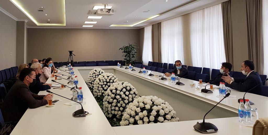 """BMU-nun əməkdaşları """"İTACA"""" Erasmus+ KA2 layihəsi çərçivəsində keçirilən görüşdə"""